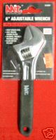 "New MIT 6"" Adjustable Wrench 3/4"" Jaw Capacity #2300B"