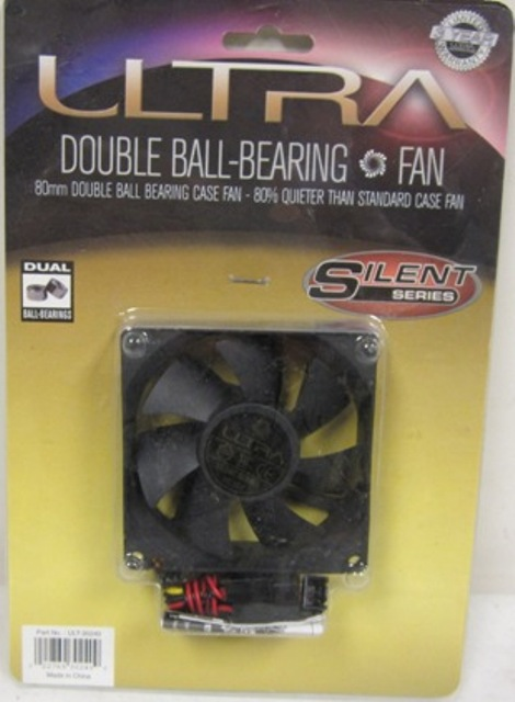 ULTRA DOUBLE BALL BEARING FAN