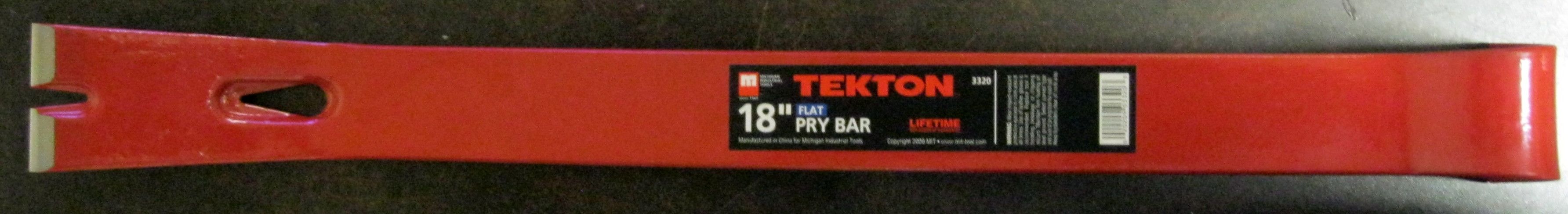 "New MIT 18"" Utility Pry Bar Flat Ripping, Pulling"